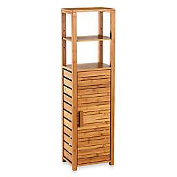 Bamboo Tall Floor Cabinet