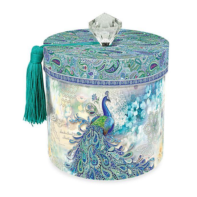 Alternate image 1 for Toilet Paper Holder in Paisley Peacock