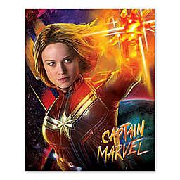 Marvel® Captain Marvel Universe Burst 16-Inch x 20-Inch Canvas Wall Art