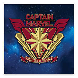 Marvel® Captain Marvel 18-Inch Square Canvas Wall Art