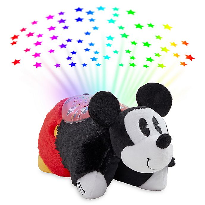 Alternate image 1 for Pillow Pets® Disney® Retro Mickey Mouse with Sleeptime Lite™