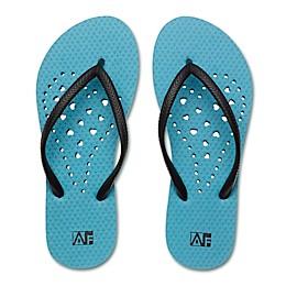 Women's Heart AquaFlops Shower Shoes in Aqua