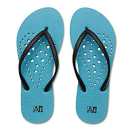 Women's Heart AquaFlops Shower Shoes in Aqua