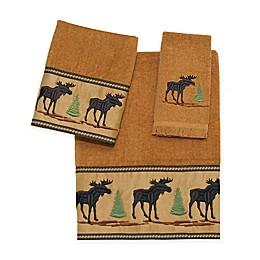 Avanti Forestry Bath Towel Collection in Nutmeg