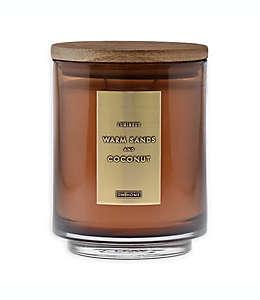 DW Home Vela en tarro aroma coco y arena, 510.29 g (18 oz)