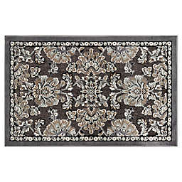Home Dynamix Maplewood 1'7 x 2'7 Washable Accent Rug in Grey