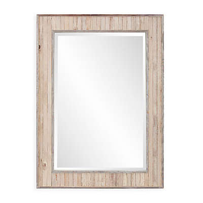 Howard Elliott® Sawyer 43-Inch x 31-Inch Rectangular Wall Mirror in White Wash