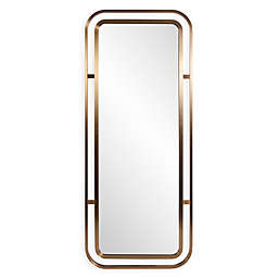 Howard Elliott® Dearborn 72-Inch x 30-Inch Rectangular Mirror in Brass