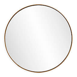 Howard Elliott® Jaxtyn 24-Inch Round Mirror in Bronze