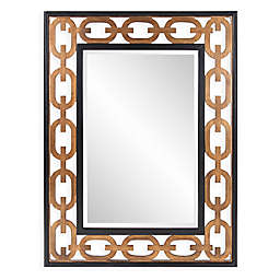 Howard Elliott® Linc 36-Inch x 48-Inch Rectangular Mirror in Gold