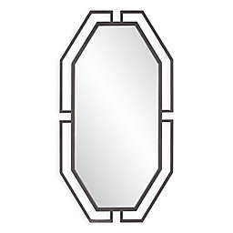 Howard Elliott® Gotham 25-Inch x 47-Inch Octagonal Mirror in Graphite