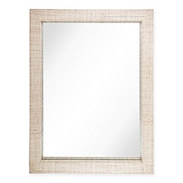 One Kings Lane Open House™ Abilene 30-Inch x 40-Inch Raffia Wall Mirror