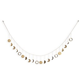 Marmalade™ Moon Phases Decorative Brass Garland
