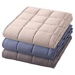 Therapedic Reversible Weighted Cooling Throw in Taupe