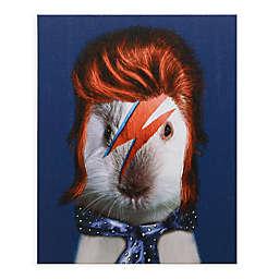 Pets Rock Glam Rock 16-Inch x 20-Inch Canvas Wall Art