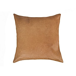 Torino Cowhide Square Throw Pillow