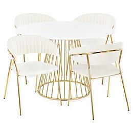 Lumisource® Tania 5-Piece Dining Set