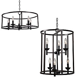 Kenroy Home Arlen Chandelier Collection in Oil Rubbed Bronze