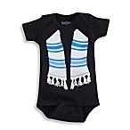Sara Kety® Black Tallis Bodysuit - 6 Months