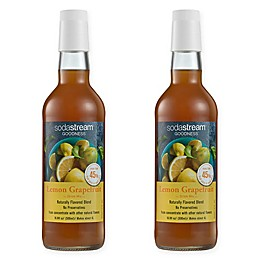 SodaStream® 2-Pack Lemon Grapefruit Goodness Drink Mix