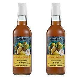 SodaStream® 2-Pack Lemon Grapefruit Goodness Drink Mix