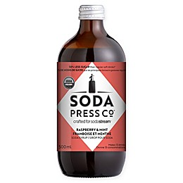 SodaStream® Raspberry and Mint Soda Press Syrup