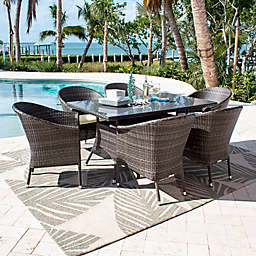 Athens Outdoor Furniture Collection in Grey