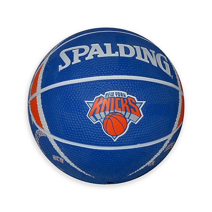 Nba Basketball New York Knicks: NBA New York Knicks Spalding Debossed Mini Basketball