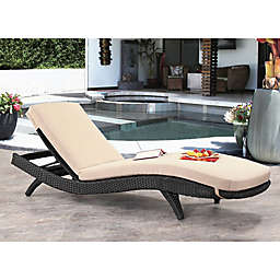 Abbyson Living® Marcelle Cushioned Adjustable Chaise