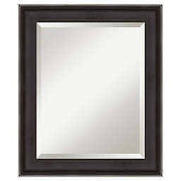 Amanti Art Allure Wall Mirror in Charcoal