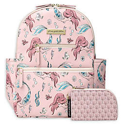 Petunia Pickle Bottom® Little Mermaid Ace Backpack Diaper Bag in Pink