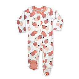 Finn by Finn + Emma® Peaches Organic Cotton Footie in White