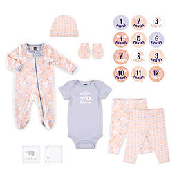 The Peanut Shell™ Size 0-3M 20-Piece Floral Layette Set