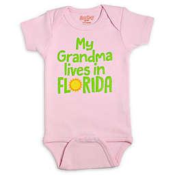Sara Kety® Size 6-12M Grandma Florida Bodysuit in Pink