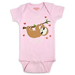 Sara Kety® Sloth Bodysuit in Pink