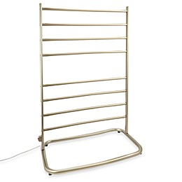 Jerdon Hyde Park Freestanding Towel Warmer with Eight Bars