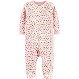 carter's® Floral Footie in Pink