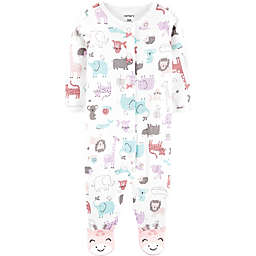 carter's® Animal Footie in Ivory