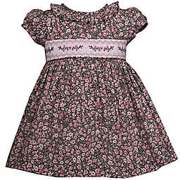 Bonnie Baby Floral Dress in Rose