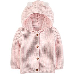 carter's® Hooded Sweater in Pink