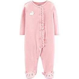carter's® Bunny Footie in Pink