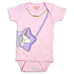 Sara Kety® Unicorn Bodysuit in Pink