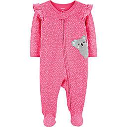 carter's® Koala Long Sleeve Footie in Pink