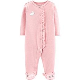 carter's® Preemie Bunny Footie in Pink