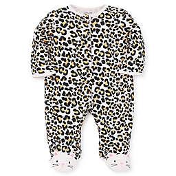 Little Me® Size 9M Leopard Footie
