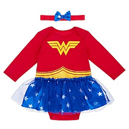 DC Comics Wonder Woman Tutu Bodysuit in Red