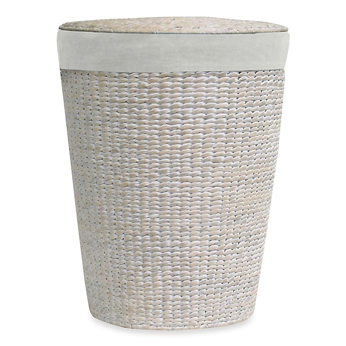 Alternate image 1 for Lamont Home™ Makatea Water Hyacinth Round Hamper