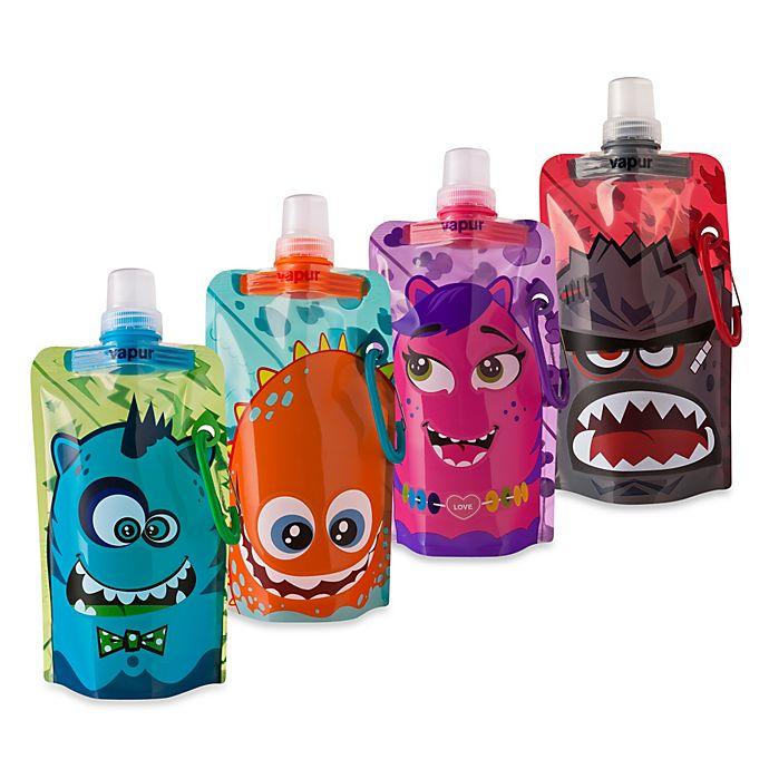 Alternate image 1 for Vapur® Quenchers 0.4-Liter Kids Foldable Water Bottle
