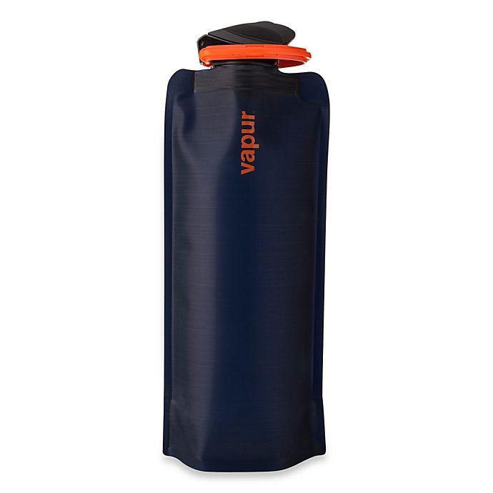 Alternate image 1 for Vapur® Shades 0.7-Liter Foldable Water Bottle - Blue