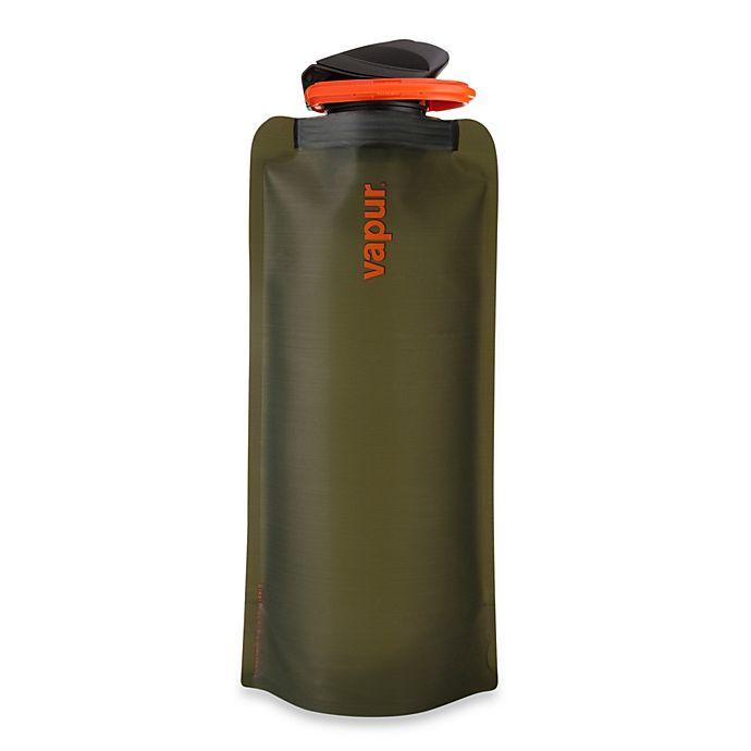 Alternate image 1 for Vapur® Shades 0.7-Liter Foldable Water Bottle - Olive
